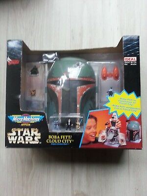 Boba Fett Cloud City Micro Machines Star Wars Ovp Sammler