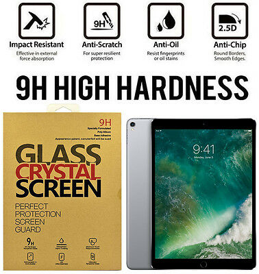 For Apple iPad Pro 10.5 inch Premium Tempered Glass Screen Protector Film Guard
