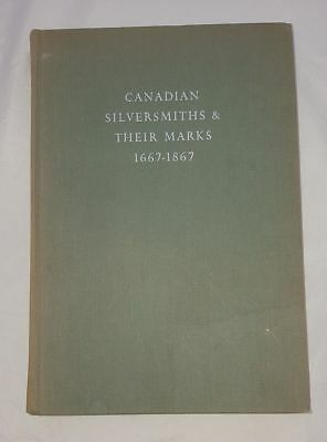 Canadian Silversmiths & Their Marks 1667-1867  John Langdon #319 Free Shipping