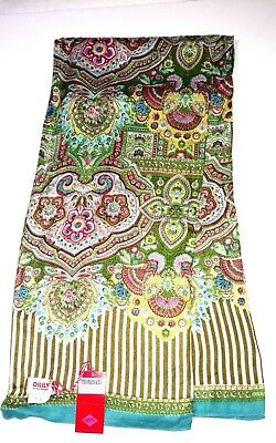 Oilily Scarf.  New with tags. Flower Goa India