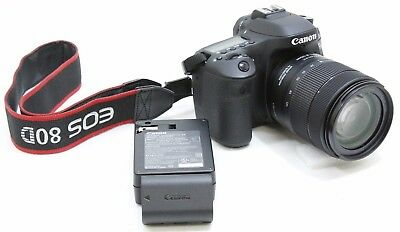 Canon EOS 80D 24.2 MP Digital SLR Camera w/ EF-S 18-135mm f/3.5-5.6 IS USM Lens