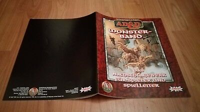 Monster Band Ad&d Tsr  Advanced Dungeons & Dragons Ad&d Sehr Guter Zustand