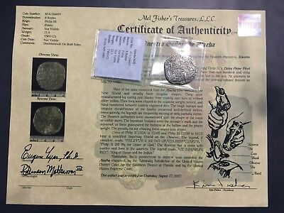 Atocha 8 Real Grade 2 with Certificate of Authenticity