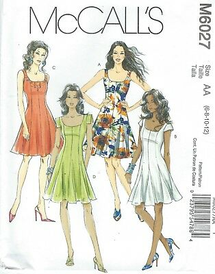 MCCALL\'S 6027 MISSES\'/MISS Petite Dresses Sewing Pattern - $5.98 ...