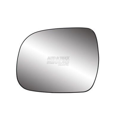 For Toyota Corolla 14-16 Driver Side Mirror Glass w Backing Plate Non-Heated