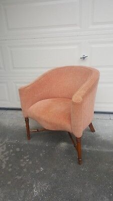 1950's French Art Deco Style Comfort Chair by Paul Follot