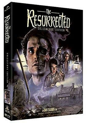 Digipack THE RESURRECTED - UNCUT LIMITED COLLECTORS EDITION BLU-RAY DVD BOX New