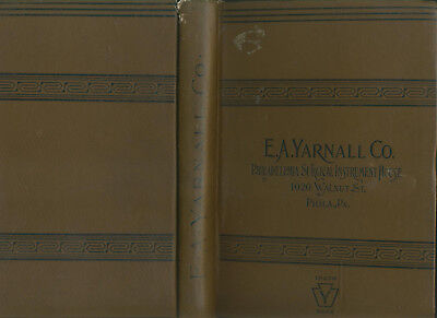 1894 E A Yarnall Co Philadelphia Surgical Instruments Illustrated Catalog 381 Pg