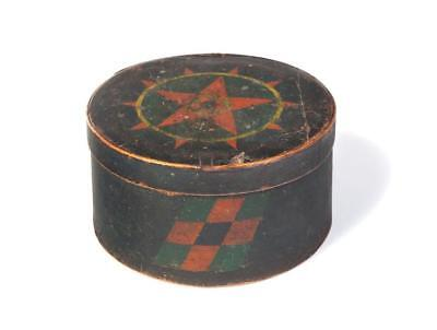 AMERICAN DECORATED PANTRY BOX. Lot 379