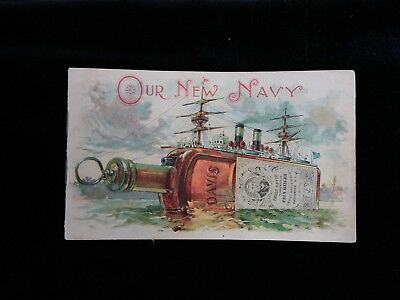 Perry Davis Vegetable Pain Killer Our New Navy Brochure 1890's? - FREE SHIPPING!
