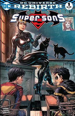 Super Sons #1 - Detention - Unknown Comic Books Exclusive Catwoman Only