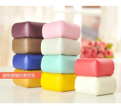 4Pcs Baby Kids Safety Desk Table Edge Cushion Cover Protector Protection Corner