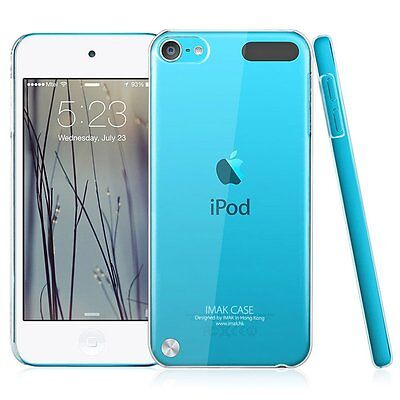 2X PACK Thin Crystal Clear Hard Back Case Cover Apple iPod Touch 6th Generation