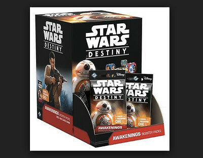 Star Wars Destiny: Awakenings Booster Display  New In Box and Free Ship