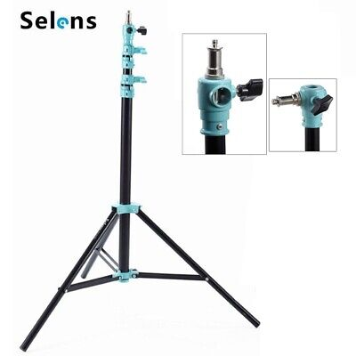 Selens 13ft 4m Air Cushioned Light Stand Tripod fr Photo Lighting Support 7KG UK
