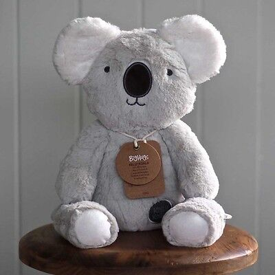 O.B Designs Huggie Kelly Koala (Grey) - Baby Plush Soft Toy Cuddly Teddy Bear