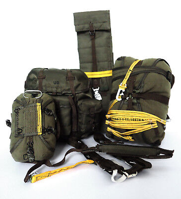 Soldier Story US Army 82nd Airborne Jump Equipment MC1-1B Parachute Alice Pack