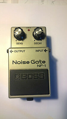 Boss Nf-1 Noise Gate Rare Mij Japan April 1987 - Aca - Conditions: Almost New!