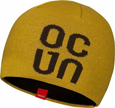 (TG. One Size) Ocun Logo Hat oil yellow one size (D2O)