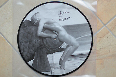 Madonna Erotica Promo Picture Disc Limited Edition Pro-Pd-5640