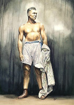 JACK DEMPSEY  ,BOXING,LIMITED EDITION PRINT signed and numbered by the artist