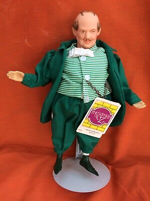 Vtg Munchkinland Mayor Wizard of Oz Collector Doll By Presents Of Hamilton Gifts