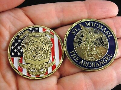 Police Officer Challenge Coin Law Enforcement Collectible Police Challenge Coin