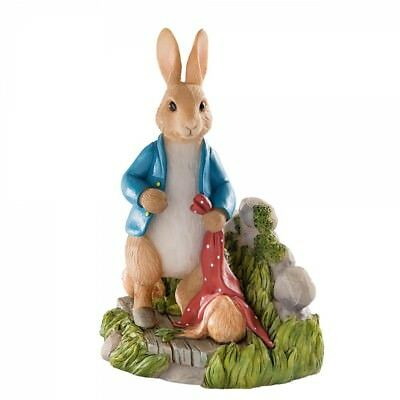 New * Gardening  * Peter Rabbit Beatrix Figurine Statue - A28482