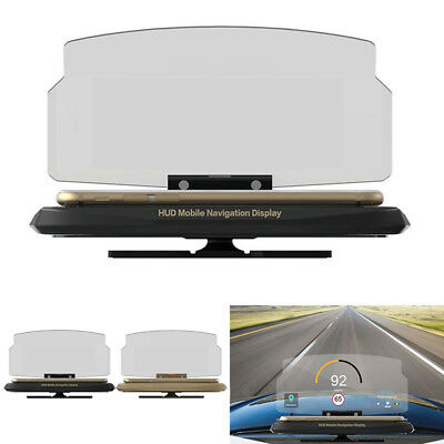 auto head up display hud handy halter gps navigation bild. Black Bedroom Furniture Sets. Home Design Ideas