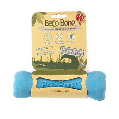 BeCo Dog Puppy Treat Dispensing Toy Bone Made from Natural Fibres All sizes