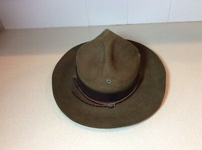 Vintage Official Boy Scout Scoutmaster Hat