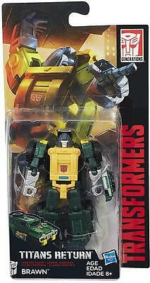 Hasbro - Transformers Generations Titans Return Legend Brawn - Brand New