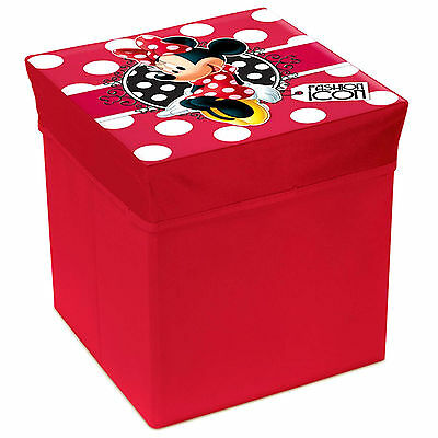 Floor Seat Storage Child Disney Minnie