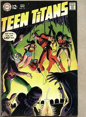 Teen Titans #19-1969 fn+ 1st Punch / Nick Cardy Wally Wood Gil Kane