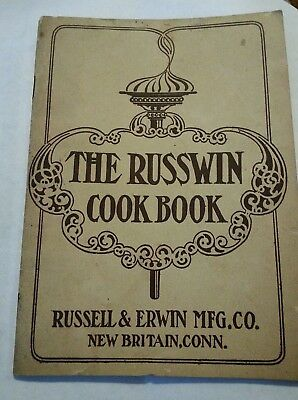 The Russwin cook book by Russell & Irwin Mfg Co new Britain Conn.