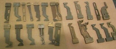 LOT  Antique Vtg Mortise Lock Parts Deadbolts Steel/Cast Brass Lot 1