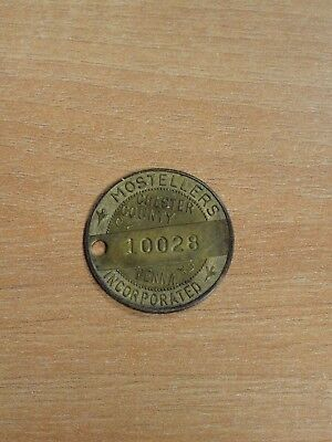 Mosteller's Chester County Pa. Credit Charge Coin Token Department Store