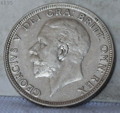 "1931 Great Britain 1 Florin ""AU+"" *Free S/H After 1st Item*"