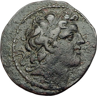 ALEXANDER I BALAS 150BC SELEUKID Apameia Authentic Ancient Greeek Coin i65135