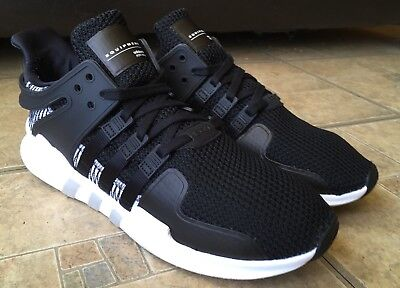 separation shoes adec8 d5dd5 ADIDAS EQT SUPPORT ADV Core Black/White BY9585 Running Shoes Men Size 10.5