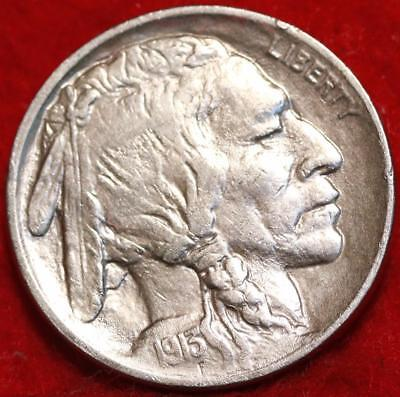 Uncirculated 1913 Type I  Philadelphia Mint  Buffalo Nickel Free Shipping