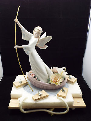Lladro 7679 Enchanted Lake Fairy Limited Edition New Old Stock MIB RARE !!
