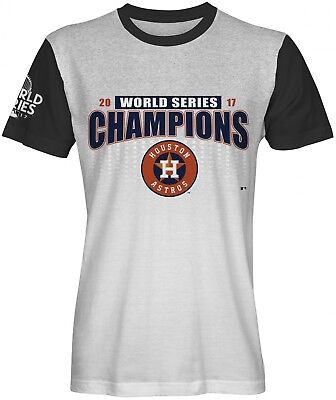 b594b104 2017 MLB WORLD Series Champions Houston Astros Men T-Shirt 2X-Large ...