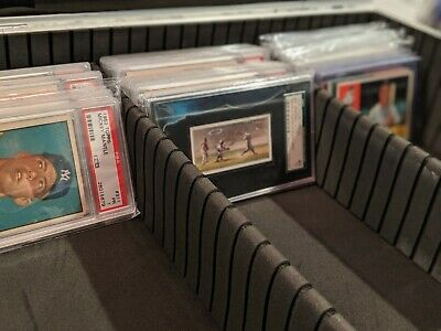 Graded Card Case Storage Box Display Holder PSA - CERTIFIED - EXTRAS!