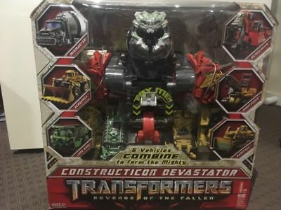 Transformers Constructicon Devastator Revenge of the Fallen NEW SEALED IN BOX