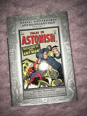 Marvel Masterworks Ant Man Giant Tales To Astonish 27