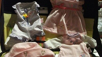 Baby born clothes and extras