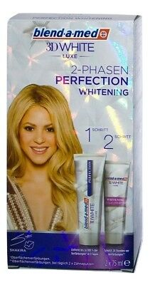 (4,33€/100ml) blend-a-med 3D White 2-Phasen Perfection Whitening 2x75 ml