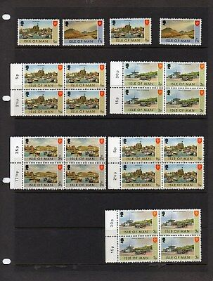 ISLE OF MAN 65 Stamps MNH + M/Sheet  Job lot ,to clear.