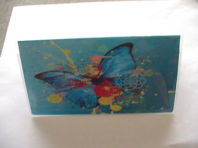 Butterfly #2 Checkbook cover